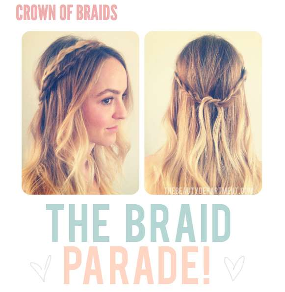 Plaited Hair Headbands
