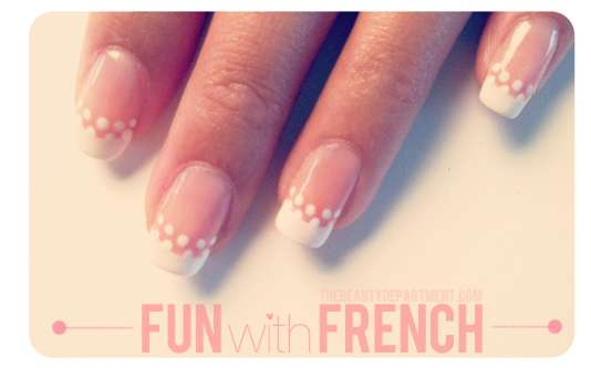 Playful French Manicures