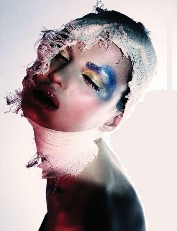 Bandaged Beauty Photography Series