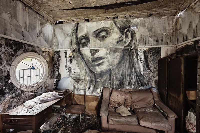 Crumbling Beauty Murals