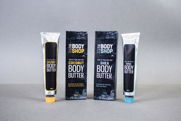 Industrial Beauty Product Packaging