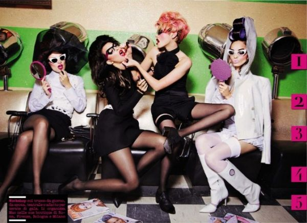 Beauty School Bombshell Editorials