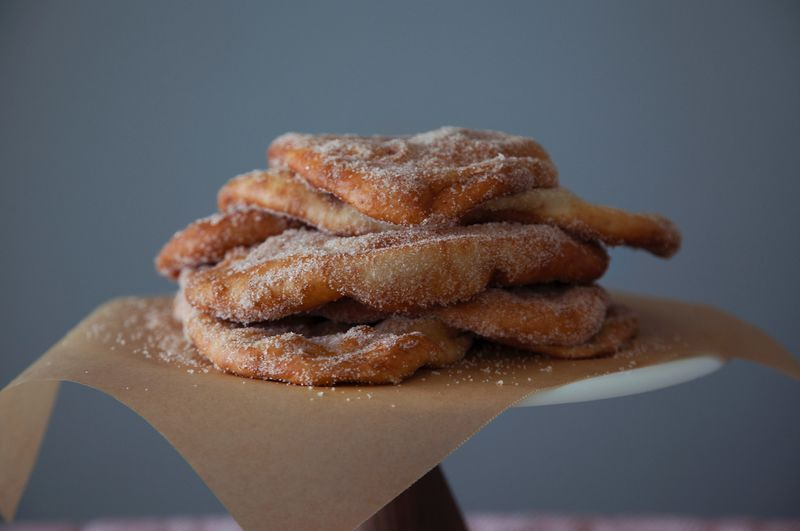 Flattened Pastry Desserts