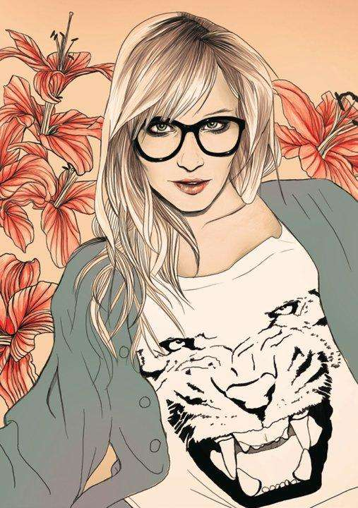 Sultry Hipster Sketches