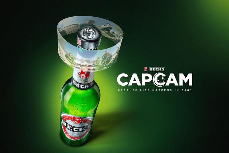 Camera Beer Caps