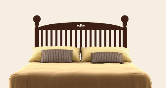 Customizable Bed Frame Stickers