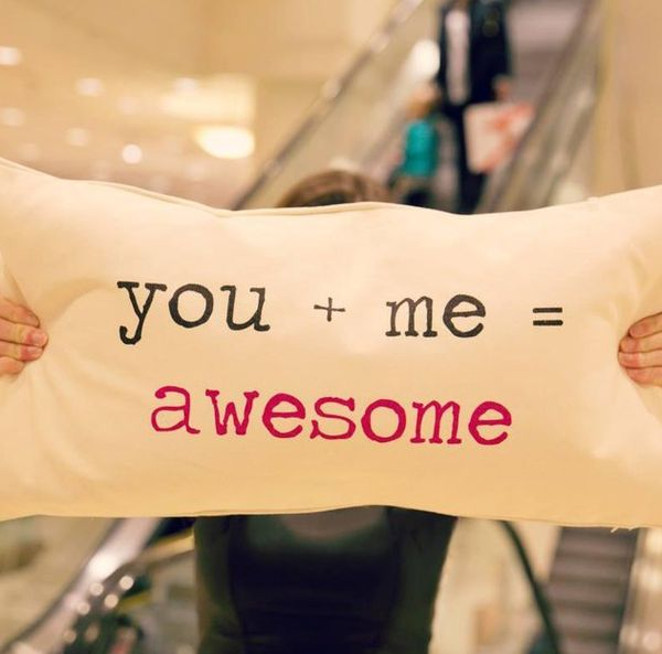 Endearing Equation Cushions