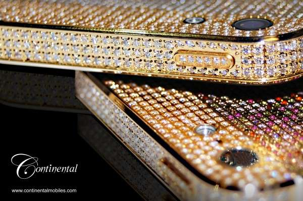 Bedazzled iPhone Diamonds