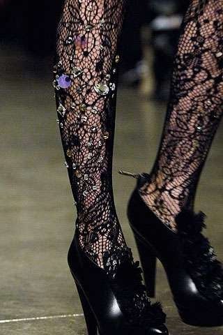 Bedazzled Legs