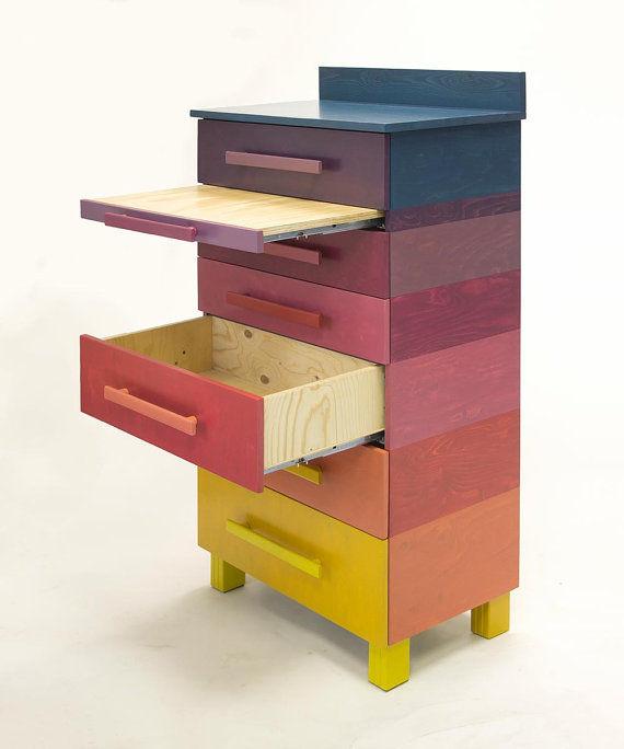 Technicolor Rainbow Dressers