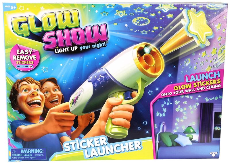 Sticker-Shooting Toys