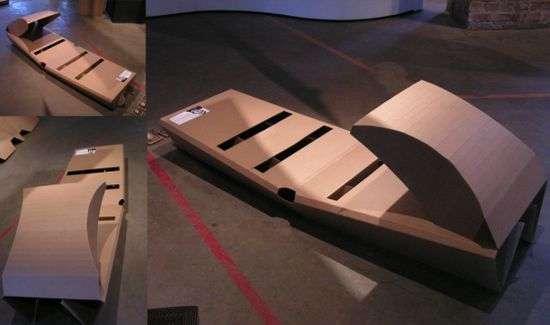 Cardboard Box Beds