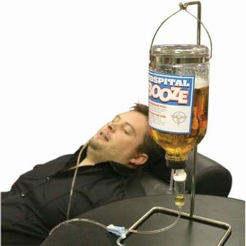 Medical Booze Dispensers