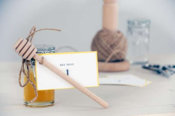 Romantic Gesture Honey Jars