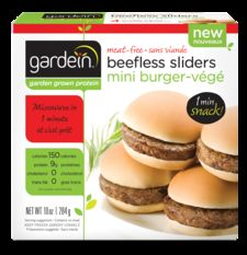 Hearty Beefless Sliders