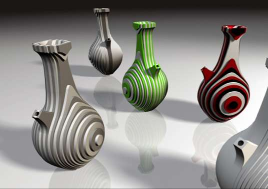 Contemporary Layered Carafes