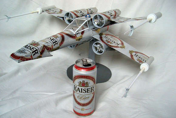 Recycled Boozy Spaceships