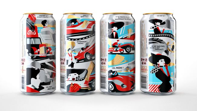Film Festival Beer Cans