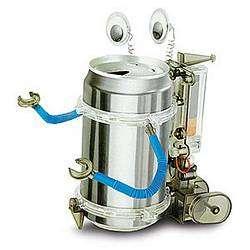 DIY Robots from Aluminum Cans