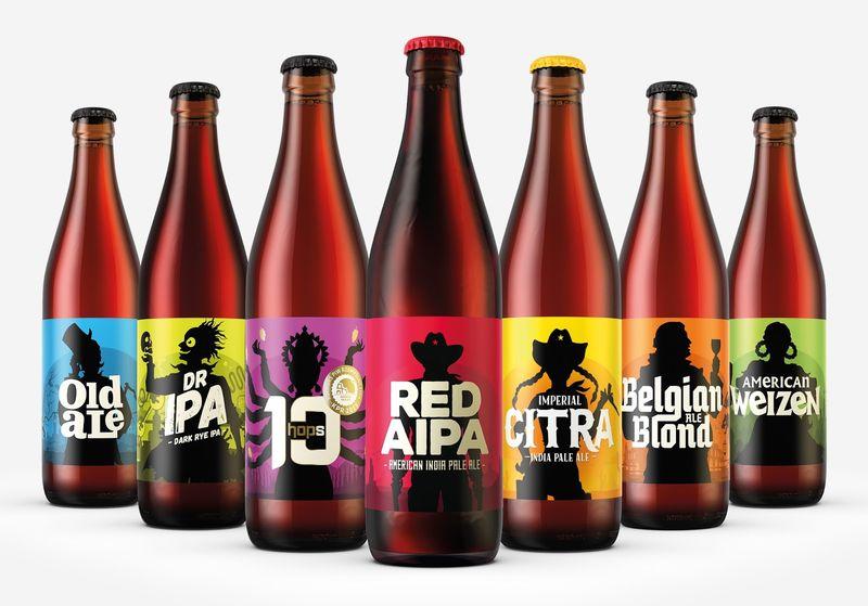 Contrasting Beer Designs