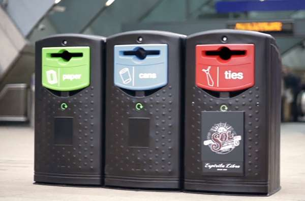 Recycling Bin Beer Dispensers
