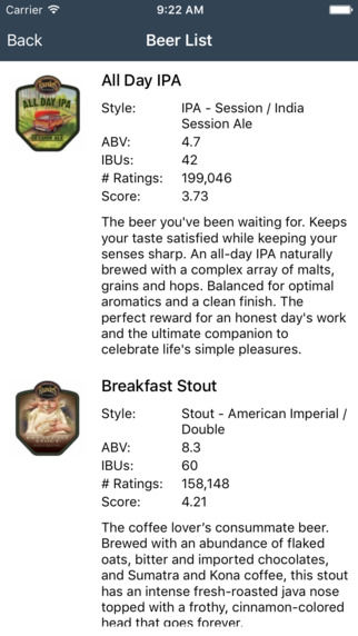 Organizational Brewery Apps