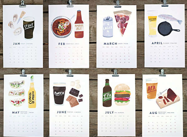 Macho Manly Consumption Calendars