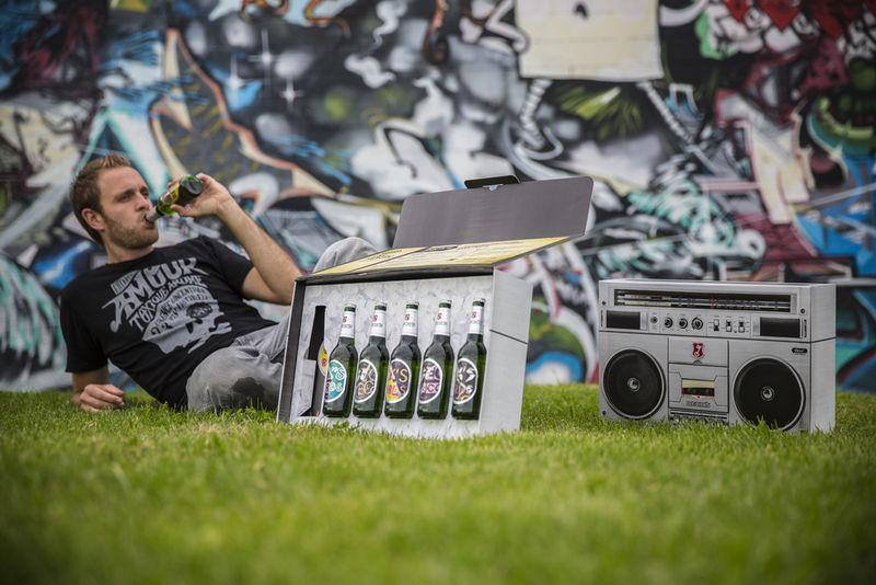 Boombox Beer Cases