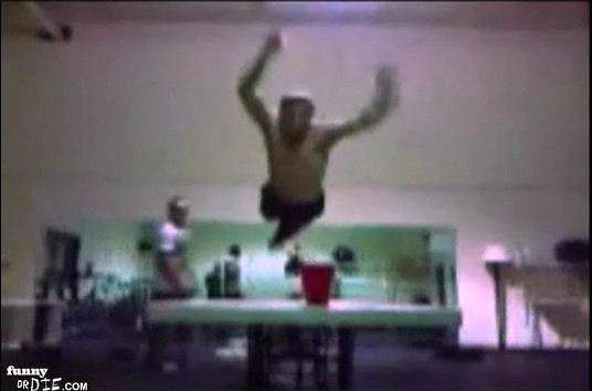 Beer Pong Dunking