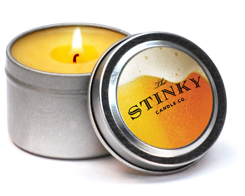 Brew-Scented Candles