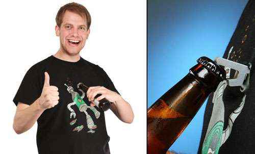 Wearable Beer Openers