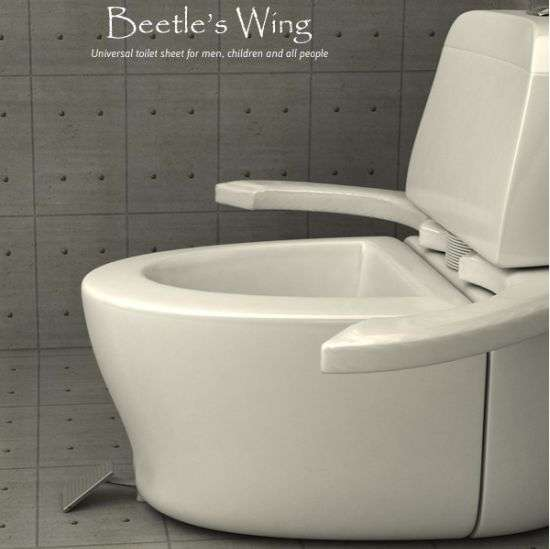 Beetles Wing Toilet