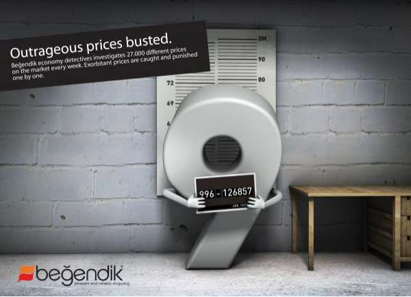 Incarcerated Numeral Advertising