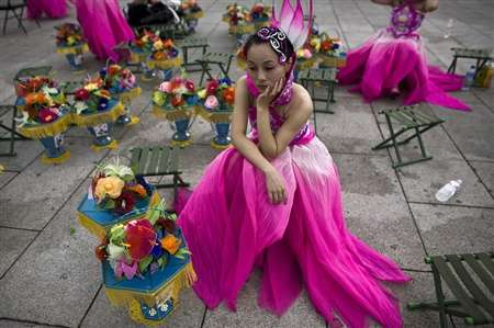 Bejing Olympic Dancers