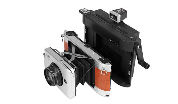 Polaroid-Inspired Lomo Cameras