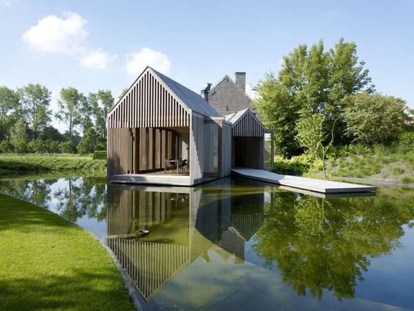 Natural Home Renovations Belgian House Extension Keeps It
