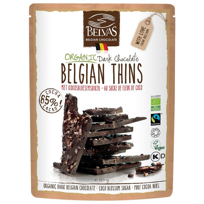 Fair Trade Chocolate Crisps