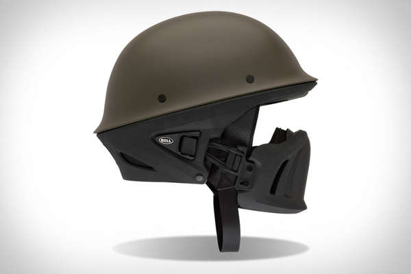 Militarized Motocycle Helmets