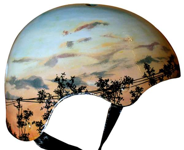 Hand-Painted Head Protectors