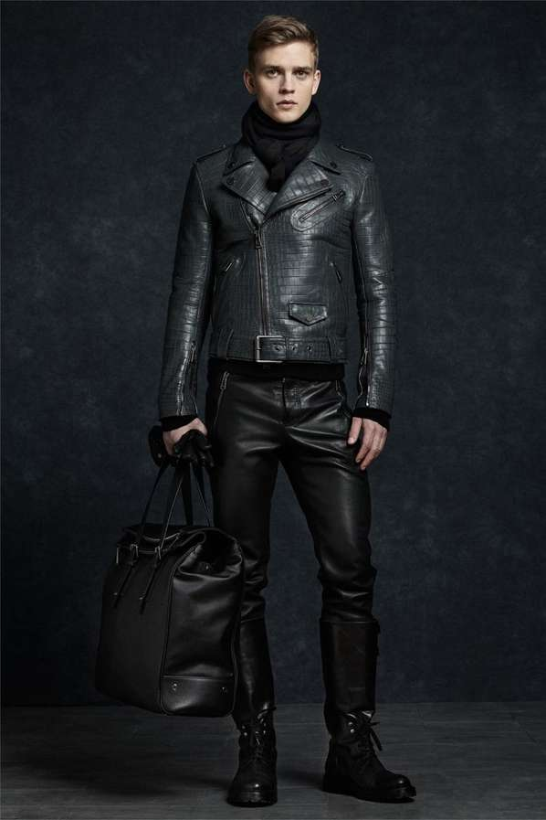 Luxurious Leather-Infused Lookbooks