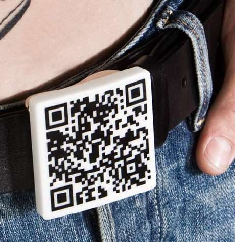 QR Code Belt Buckles
