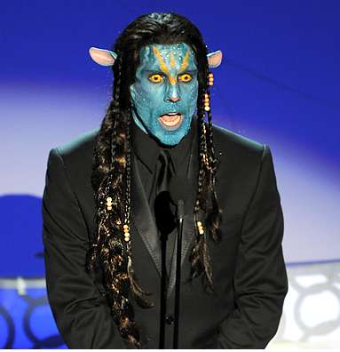 Ben Stiller's costume at the Academy Awards