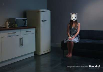 Masked Allergy Ads