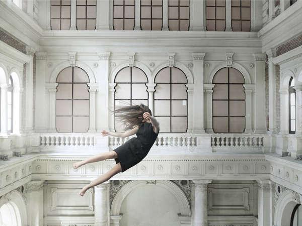 Ethereal Floating Female Photography