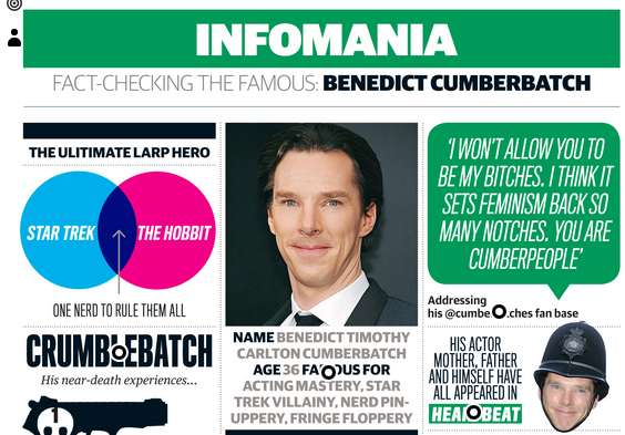 benedict cumberbatch facts