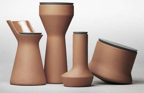 Intuitive Terracotta Vessels