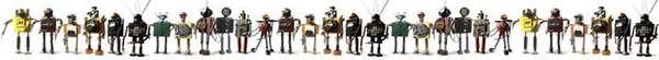 Bennett Robot Works: Robot Art