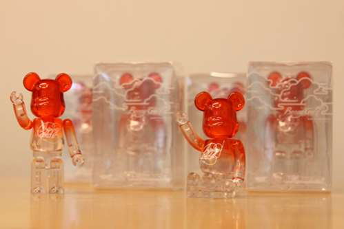 Benny Gold SF Fog Series Bearbrick