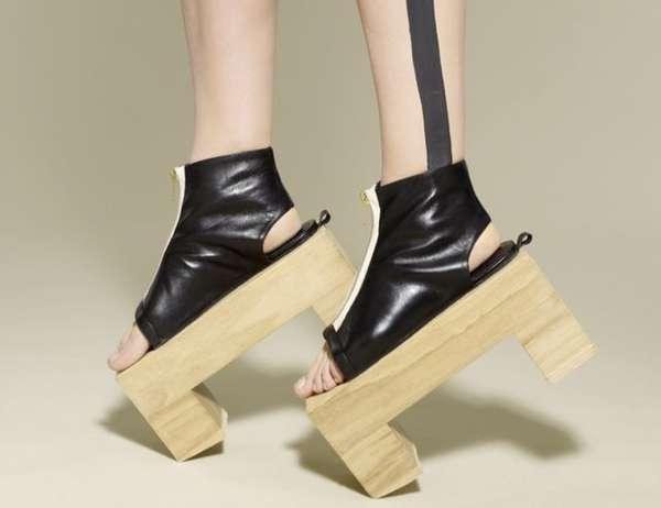 Wooden Block Heels