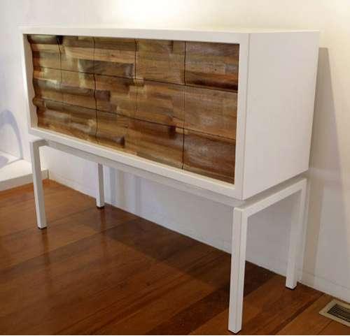 Undulating Wood Furniture